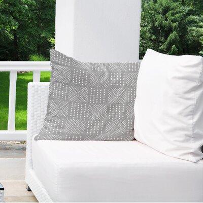 Albina Indoor/Outdoor Throw Pillow Color: Grey, Size: 16 H x 16 W