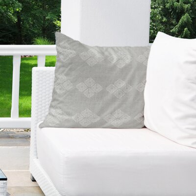 Albion Indoor/Outdoor Throw Pillow Color: Grey, Size: 16 H x 16 W
