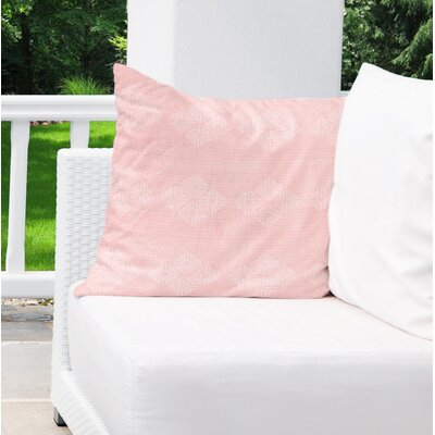 Albion Indoor/Outdoor Throw Pillow Color: Pink, Size: 18 H x 18 W