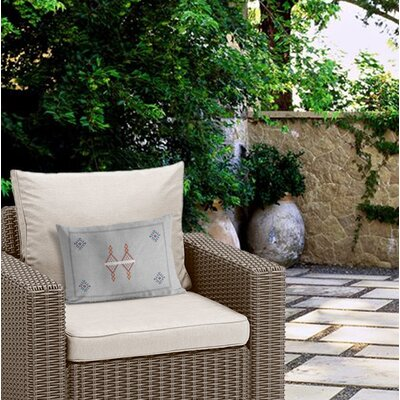 Outdoor Zipper Lumbar Pillow with Double Sided Print
