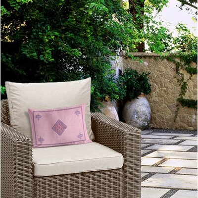 Outdoor Zipper Rectangular Lumbar Pillow with Double Sided Print