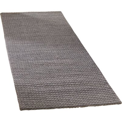 Alberta Hand Tufted Gray Area Rug� Rug Size: Runner 23 x 8