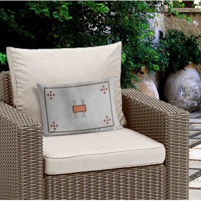 Outdoor Geometric Lumbar Pillow