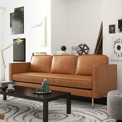 Broussard Sofa Upholstery: Honey Tan
