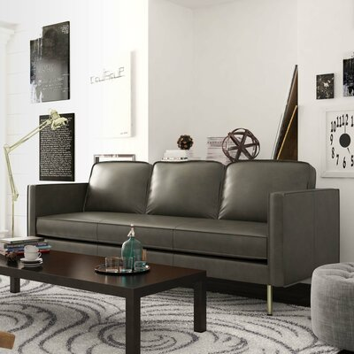 Broussard Sofa Upholstery: Vintage Gray