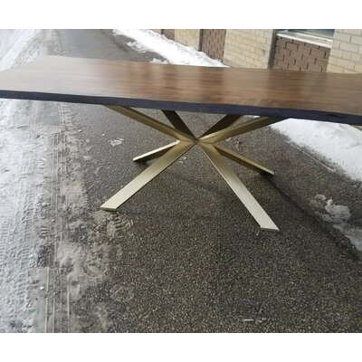 Corcoran Real Handmade Live Edge Dining Table