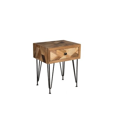 Manges Side Table with Storage