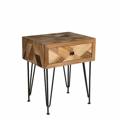 Maser End Table with Storage