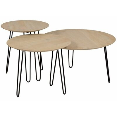 Northwick 3 Piece Coffee Table Set