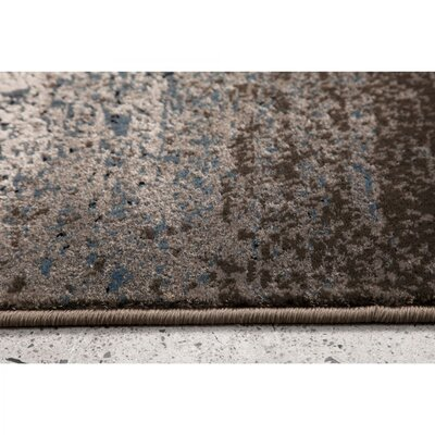Fredrik Rectangle Gray Area Rug