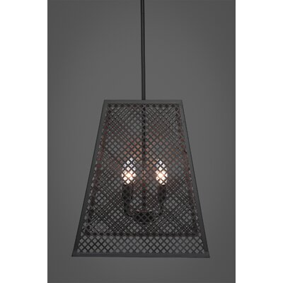 Giusto 4-Light Foyer Pendant Finish: Espresso