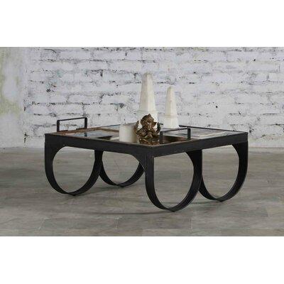 Viaan Iron and Wood Coffee Table