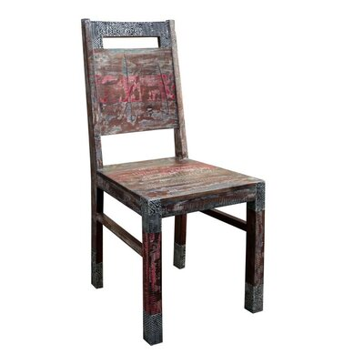 Akul Solid Wood Dining Chair (Set of 2)