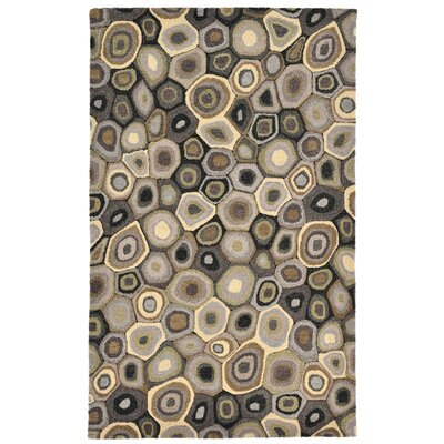 Bressyln Hand-Tufted Gray Area Rug Rug Size: 5 x 8