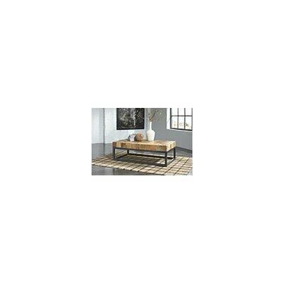 Khue Coffee Table with Magazine Rack