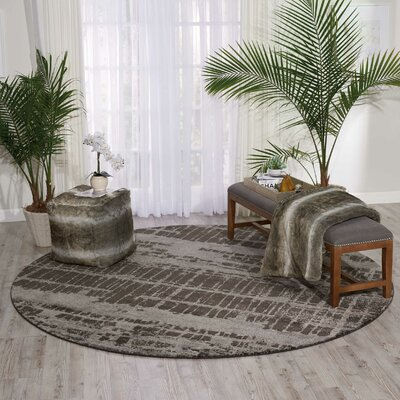 Stanton Brown Area Rug Rug Size: Rectangle 23 x 3
