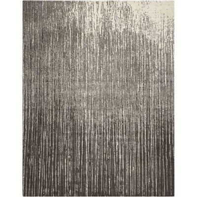 Stanton Abstract Gray Area Rug Rug Size: Rectangle 79 x 99