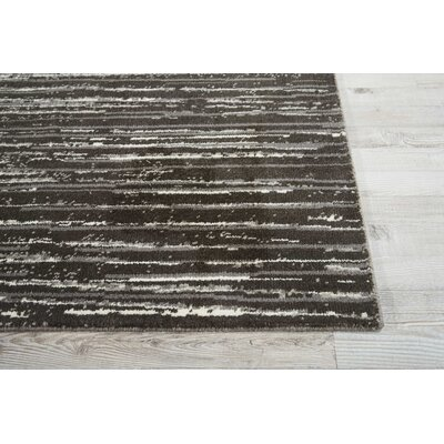 Stanton Abstract Gray Area Rug Rug Size: Rectangle 86 x 116