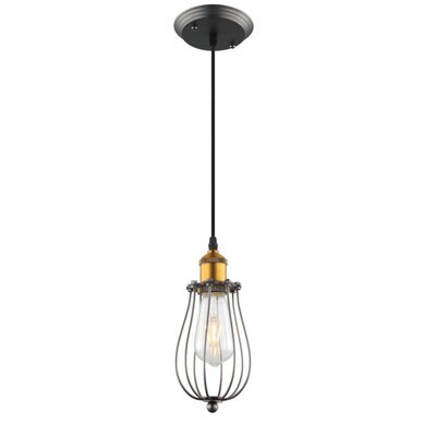 Galanti Rustic 1-Light LED Mini Pendant