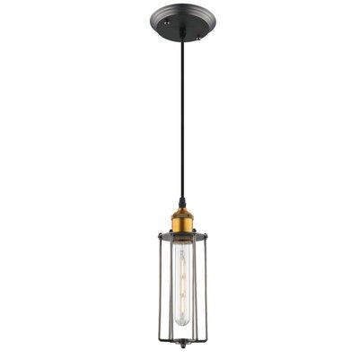 Galanti 1-Light LED Metal Mini Pendant
