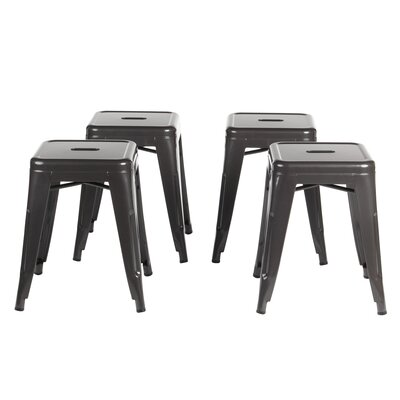 Kimpli 18 Bar Stool Color: Gun Metal Gray