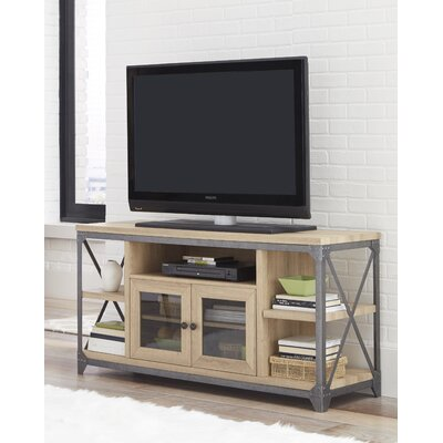 Delfin 55 TV Stand Color: White