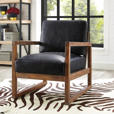 Caress Traditional Leather Armchair