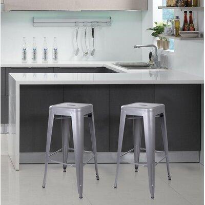 Armina 30 Bar Stool Color: Gray