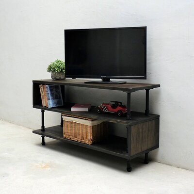 Amaliya Modern Industrial 48 TV Stand Color: Dark