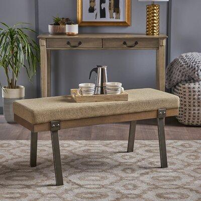 Costilla Ottoman Upholstery: Sage