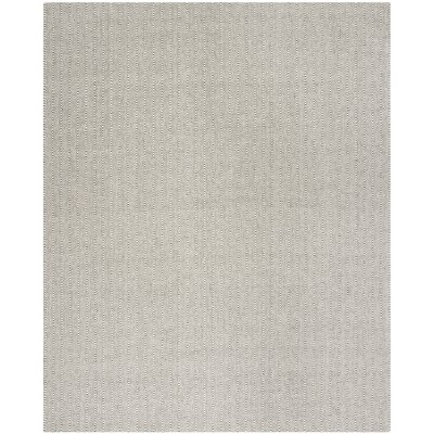 Cherif Versatile Hand Tufted Gray Area Rug Rug Size: Rectangle 8 x 10