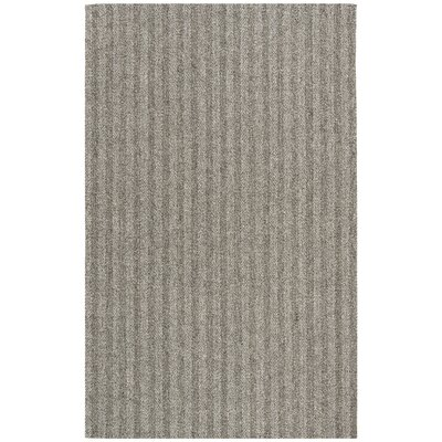 Cherif Hand Tufted Gray Solid Area Rug Rug Size: Rectangle 5 x 8