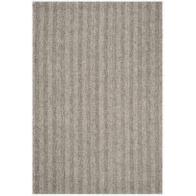 Cherif Hand Tufted Gray Solid Area Rug Rug Size: Rectangle 4 x 6