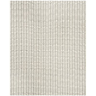 Cherif Versatile Hand Tufted Rectangle Gray Area Rug Rug Size: Rectangle 8 x 10