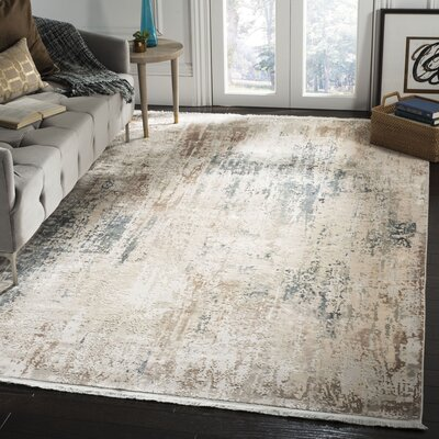 Cueto Beige Area Rug Rug Size: Rectangle 6 x 9