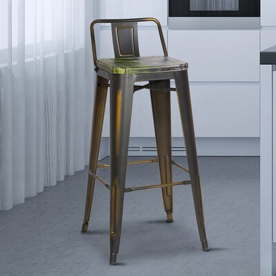 Kensington 30 Bar Stool Finish: Multi-Color