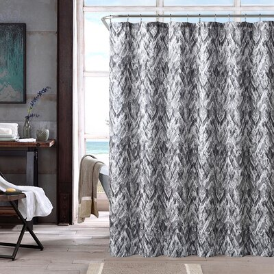 Galya Shower Curtain Color: Gray