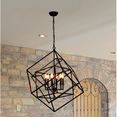 Fredrico 6-Light Candle-Style Chandelier