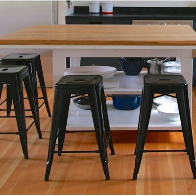 Armina 30 Bar Stool Color: Black