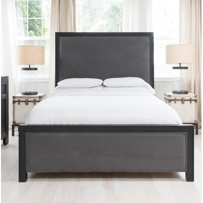 Reajean Upholstered Panel Bed Size: King