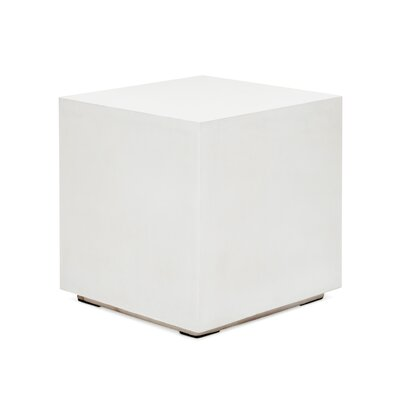 Laurinda End Table Color: White
