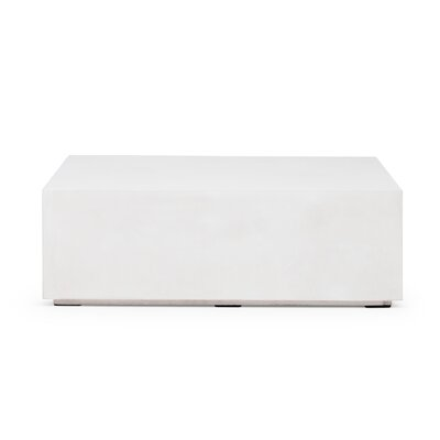 Laurinda Bloc Coffee Table Color: White