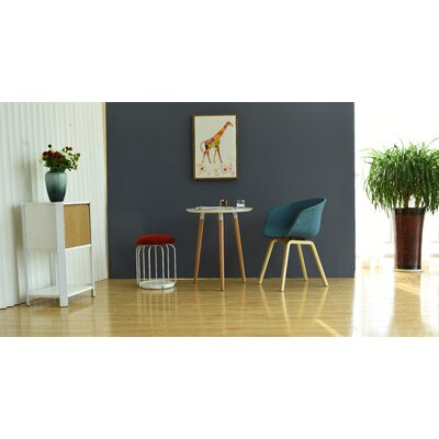 Richford Arm Chair with Wooden Legs