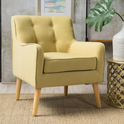 Derby Mid Century Armchair Upholstery: Wasabi