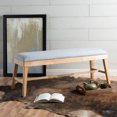 Raylan Ottoman Upholstery: Light Gray