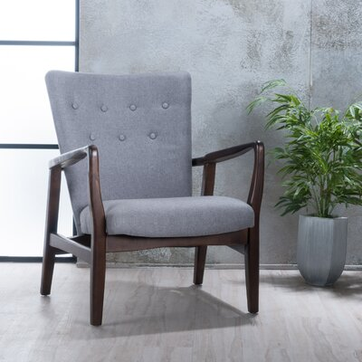 Galen Armchair Upholstery: Gray