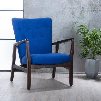 Galen Armchair Upholstery: Navy Blue