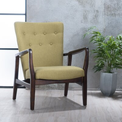 Galen Armchair Upholstery: Wasabi