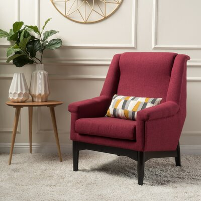 Cuyler Armchair Upholstery: Deep Red
