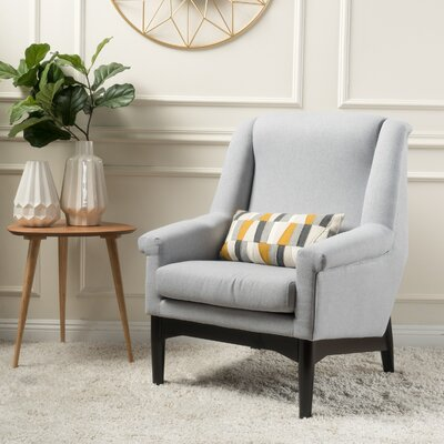 Cuyler Armchair Upholstery: Light Gray